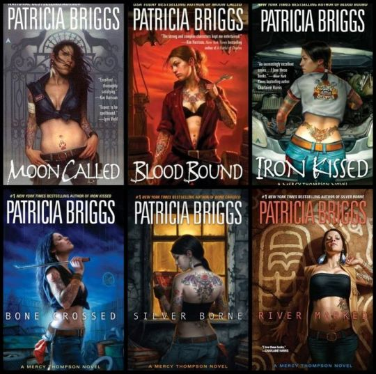 The Mercy Thompson Series